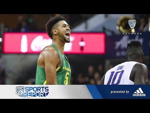 Highlights: No. 15 Oregon men's basketball powers past Washington in Seattle