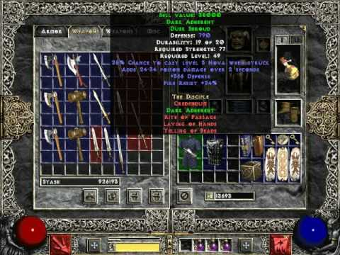 Crafted Items Diablo