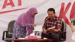 Ahok Terima Para Pendukungnya di Posko Rumah Lembang - NET5