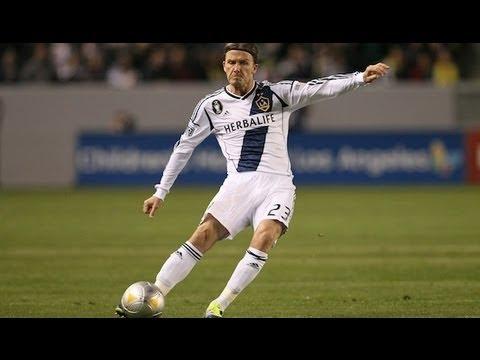 GOAL Beckham's wonder strike seals victory, LA Galaxy April 2012