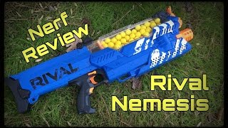 Review: NEW Nerf Rival Nemesis MXVII-10K (Game Changing Primar…