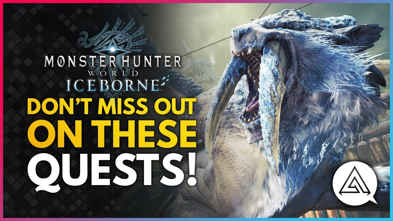 Monster Hunter World Iceborne | Don't Miss Out on These Quests Today! thumbnail