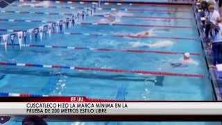 Nadador salvadoreño disputará los 200 metros libre de Juegos Olímpicos de la Juventud