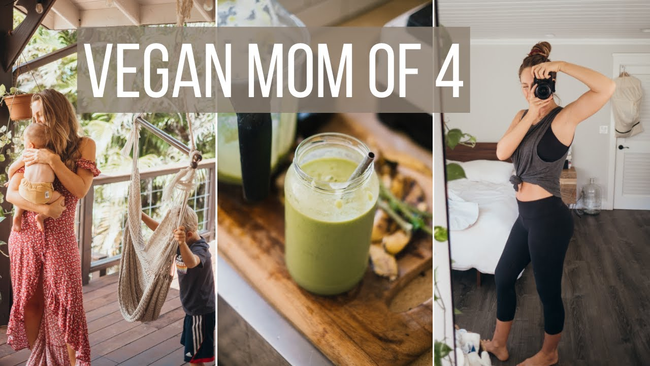 WHAT I ATE TODAY for a healthy body after 4 kids // vegan