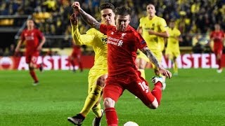 Bruno Soriano Own Goal - Liverpool vs Villarreal 1-0 Europa League 2016