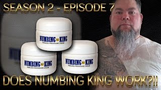 Numbing King Numbing Cream Review ~ [AJ S02 E07]