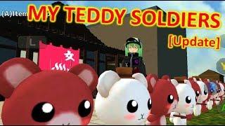 [School Girls Simulator] NEW FURNITURE & HAIRSTYLE | TEDDY SOLDIERS!! [UPDATE 16.06.2019]