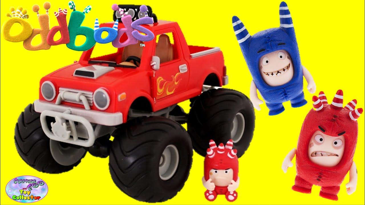 Oddbods Fuse Pogo Face Changer Figures Monster Truck