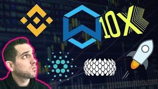 Wanchain 10x?!? Binance Fiat Gateway | SIRIN Labs x Cardano | Diet Bitcoin? $WAN $BNB $XLM $VEN $SRN