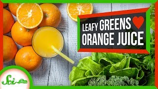 How Can Orange Juice Make Your Kale Better?