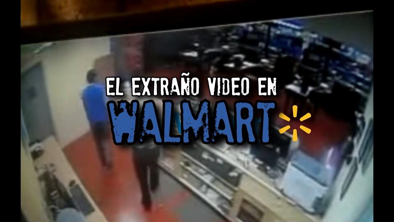 extraña grabación en WALMART - YouTube