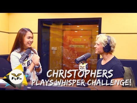 Christophers Plays Whisper Challenge! | #MaggyMeets