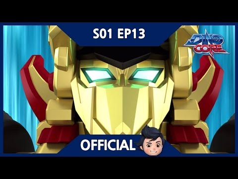 Thumbnail: [Official] [Eng Sub] DinoCore | A new golden Ultra D Buster | Robot Animation | Season 1 Episode 13