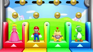 Mario Party Series - 4 Player Minigames (Master Difficulty)