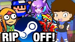 Nintendo RIP OFFS on STEAM - ConnerTheWaffle