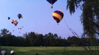 Competition Hot Air Balloon Flight Battle Creek July 5 2015