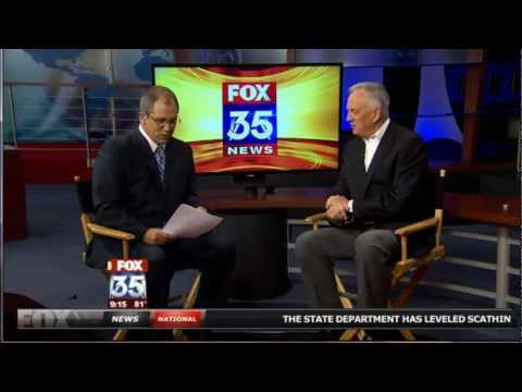 Joe Bert (The Oracle of Orlando®) Discusses Social Security on Fox 35 Orlando