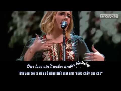 [Lyrics+Vietsub] Adele - Water Under The Bridge