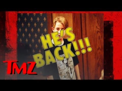 Macaulay Culkin vs. Harvey -- The Sing Off | TMZ