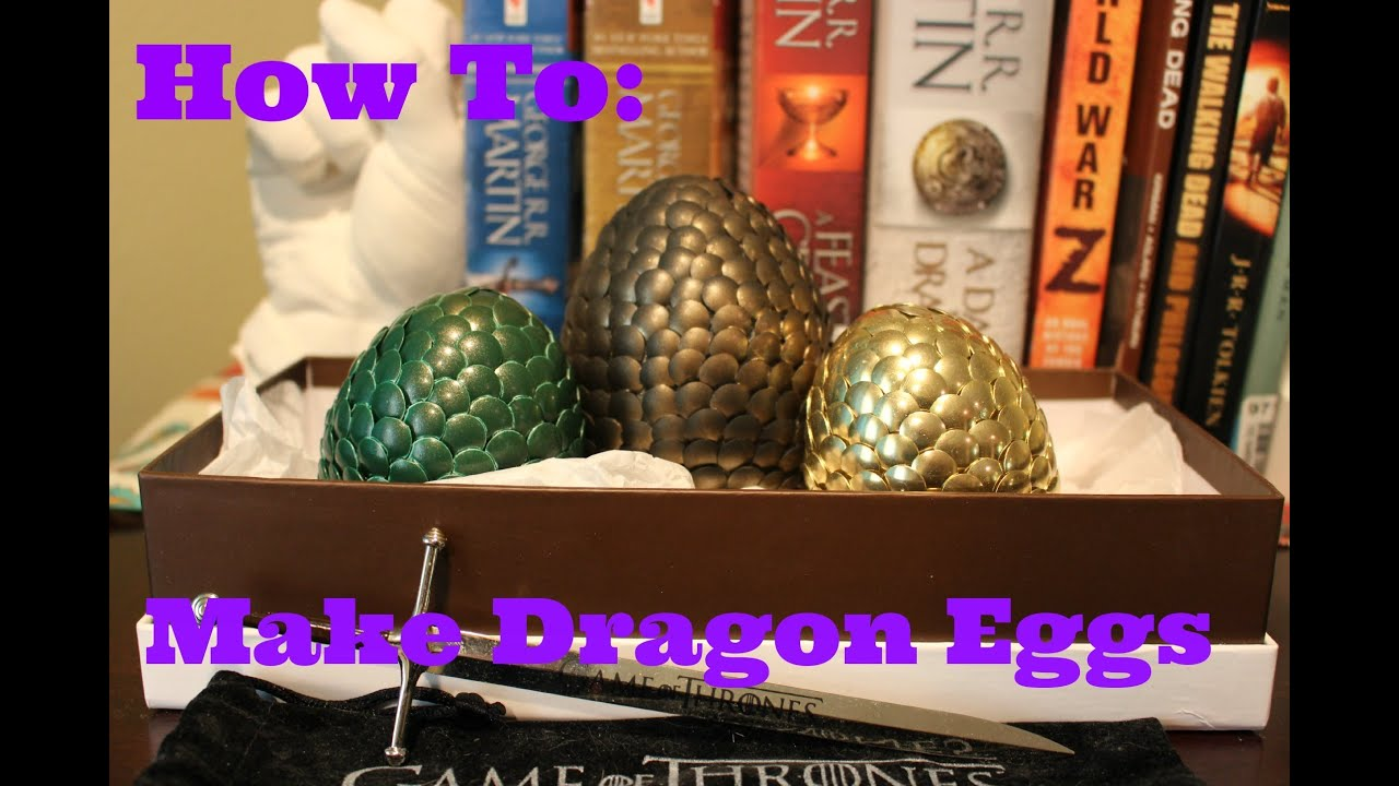 How To Make A Dragon Egg Cake