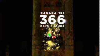 Canada 150 is 366 days away / Canada 150 est dans 366 jours thumbnail