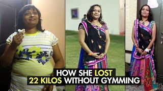 Weight Loss Transformation: How I Lost 22 Kgs at Home | Fat to Fit | Fit Tak