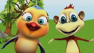 Hindi Cartoon Videos | बालगीत For Children | New Hindi Rhymes For Babies