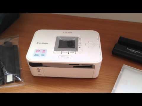 Цифровой струйный фотопринтер Canon SELPHY CP740