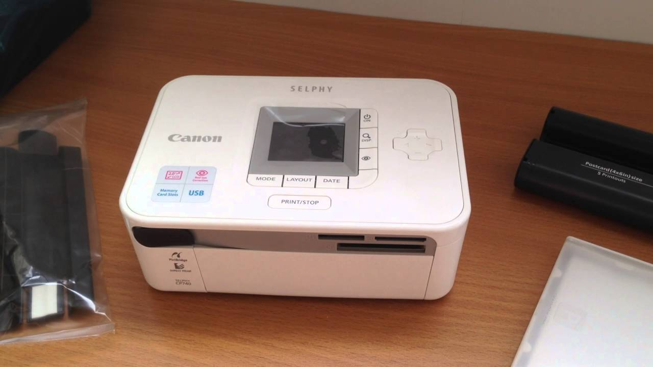 CANON SELPHY CP740 PRINTER 64BIT DRIVER DOWNLOAD