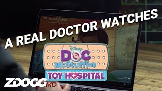 A Real Doctor Watches Doc McStuffins | ZDoggMD.com
