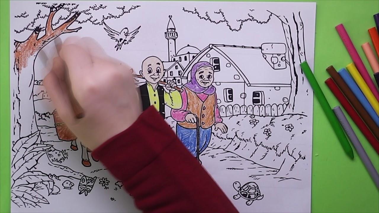 Keloğlan Boyama Keloğlan Nasıl Boyanır Coloring Keloğlan Youtube
