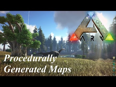 ARK: Survival Evolved Procedurally Generated Maps - Basics