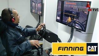 Simuladores CATERPILLAR de Máquinas Viales - Finning CAT Argentina