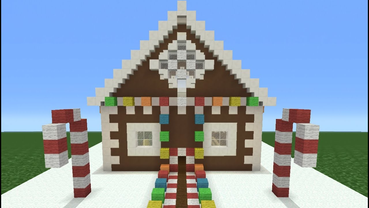 Minecraft Christmas Houses.Minecraft Tutorial How To Make A Christmas Themed House
