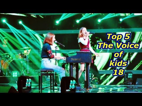 Top 5 - The Voice Of Kids 18
