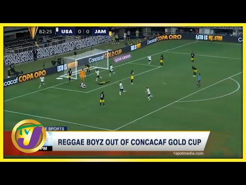 Reggae Boyz out of CONCACAF Gold Cup - July 26 2021