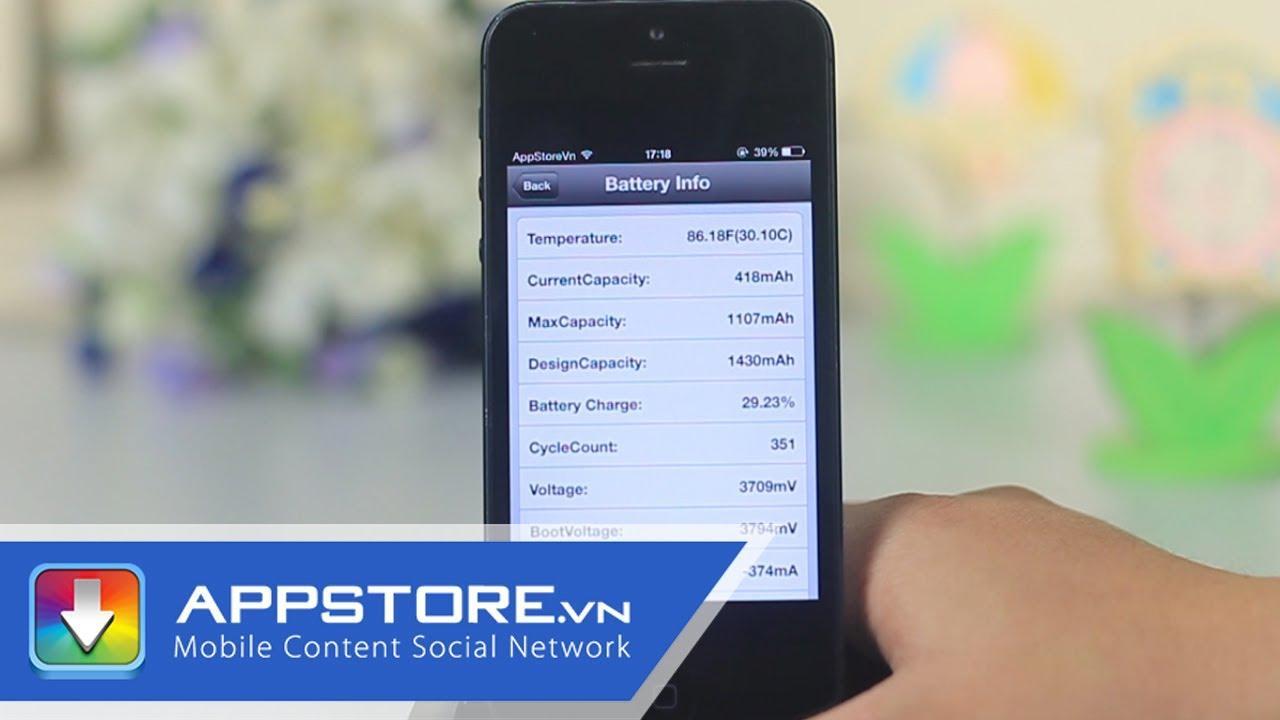batterydetective_BatteryDetective - kiểm tra dung lượng thực của pin trên các máy iOS ...