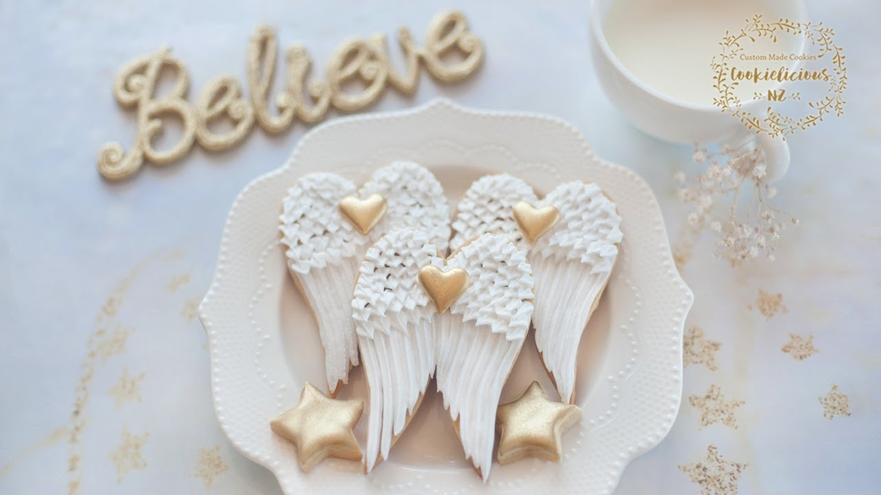 How To Make Angel Wings Cookies For Christmas