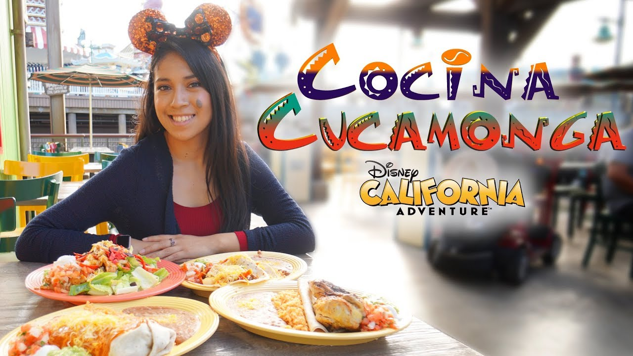 Cocina cucamonga mexican grill disney california for Ahora mexican cuisine