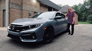 I GOT MY FIRST CAR | 2020 Honda Civic EX Hatchback *SONIC GRAY* | + Car tour & Review