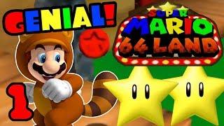 Ein NEUES 3D Mario! ⭐️ Super Mario 64 Land #1