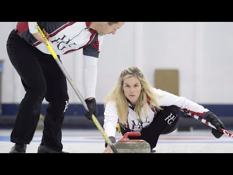 The basics of mixed doubles curling as it makes its Olympic debut