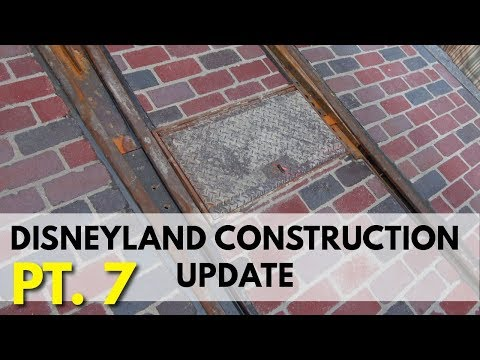 Disneyland Construction update - Is that a switch? | 03/10/18 pt 7