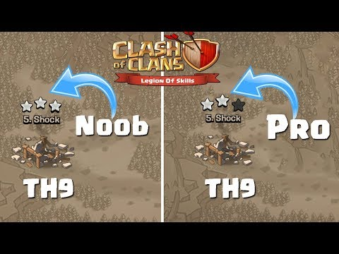 NOOB CAN 3 STAR BUT PRO CANNOT | World's Simplest TH9 War Attack Strategy  2018 | Clash of Clans