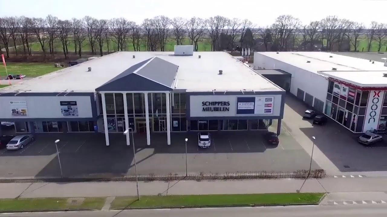 Schippers Meubelen Enschede : Schippers woonwereld in emmen drone video youtube