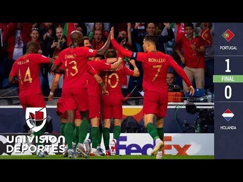 Portugal 1-0 Holanda - GOL Y RESUMEN- UFA Nations League - Final
