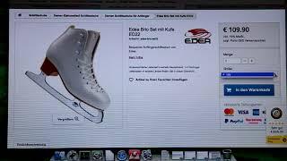 Уроки фигурного катания от приложения inSkate для Julbk'b. Покупка коньков