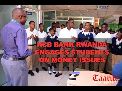 KCB BANK RWANDA ENGAGES STUDENTS ON MONEY ISSUES