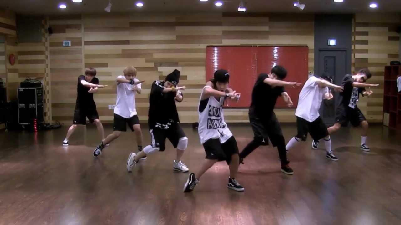 BTS 'We Are Bulletproof Pt 2' mirrored Dance Practice