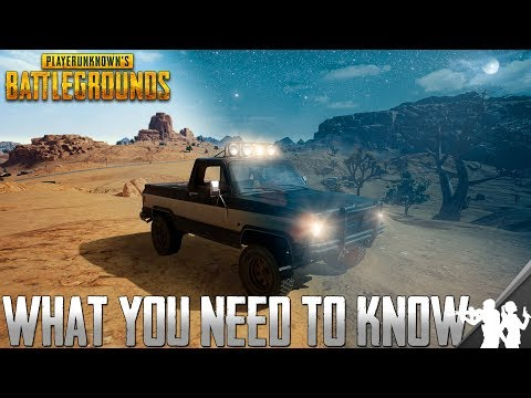 What You Need to Know About the New PUBG Desert Map Weapons, Vehicles, Possible Night Mode & Ammo